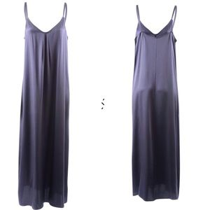Vince Silk Maxi Slip Dress